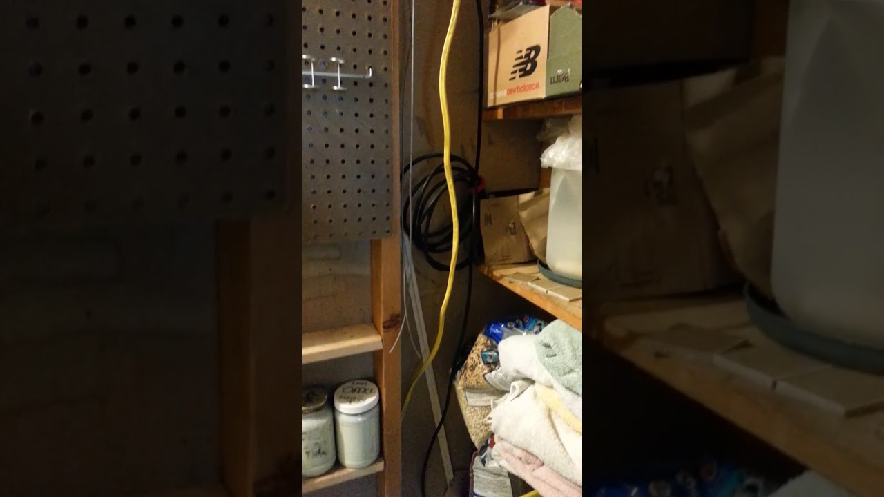 bad electrical wiring in customer 39 s home youtube. Black Bedroom Furniture Sets. Home Design Ideas