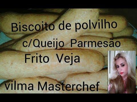 Biscoito De Polvilho com Queijo Parmesão Frito vja