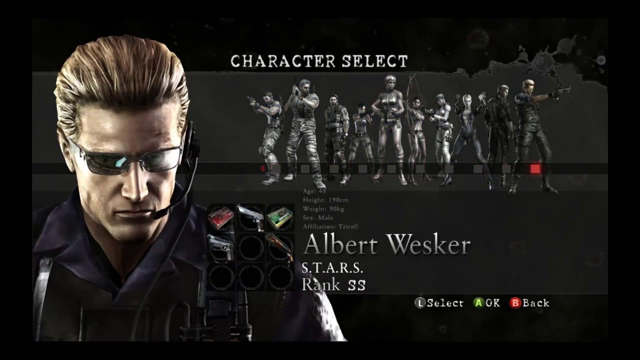 Resident Evil 5 The Mercenaries All Maps On Solo With Wesker Youtube
