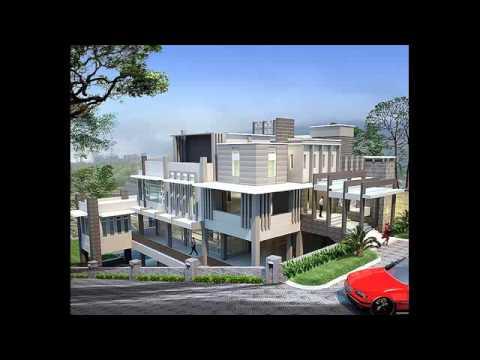 desain rumah minimalis 2 lantai luas tanah 150 m2 - youtube
