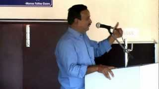 Issues in Higher Education Dr R Srinivasan  in SJM Seminar Part 1