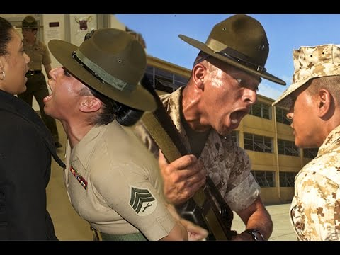 United States Marine Corps Boot Camp Training - San Diego Recruit Training