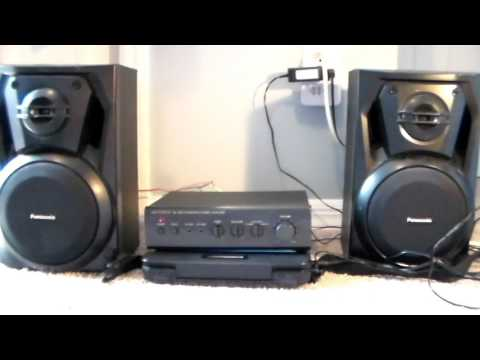 Optimus Sa -155 Integrated Stereo Amplifier - YouTube