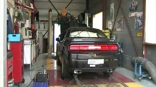 600HP Hennessey Challenger SRT8 Dyno Testing