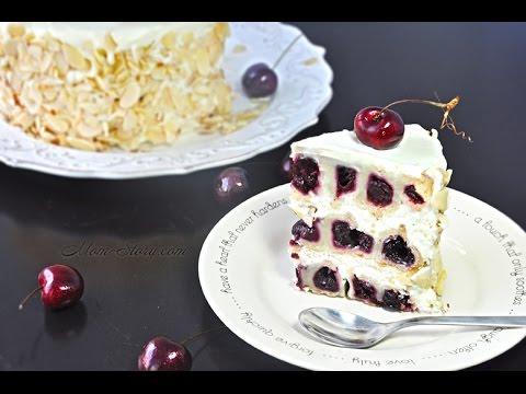 Торт безе с вишней 167
