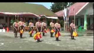 Parade Semaphore SMP N 4 MAKASSAR tim B (event seven 2014)