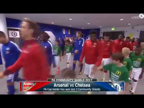 Arsenal vs Chelsea Fa community shield 2017