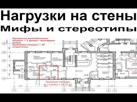 Сколько этажей можно построить из газобетона? Нагрузки на стены