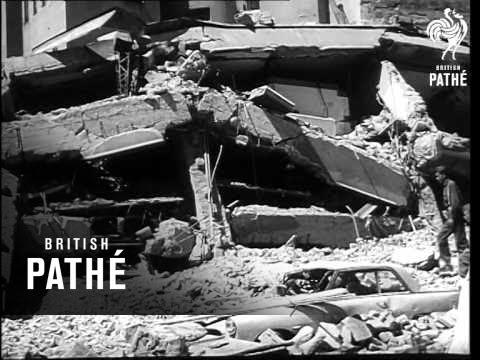 Earthquake Hits Yugoslav City Of Skopje (1963)