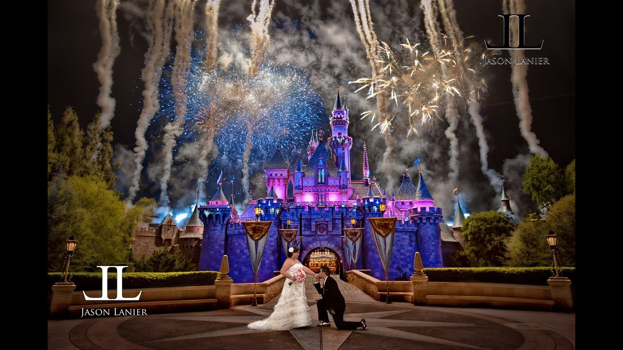 Disney Wedding Photography Disneyland Jason Lanier Weddings You