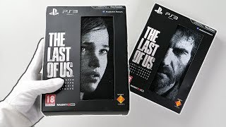 THE LAST OF US LIMITED EDITION! Unboxing ELLIE & JOEL Collector's Edition Original PS3