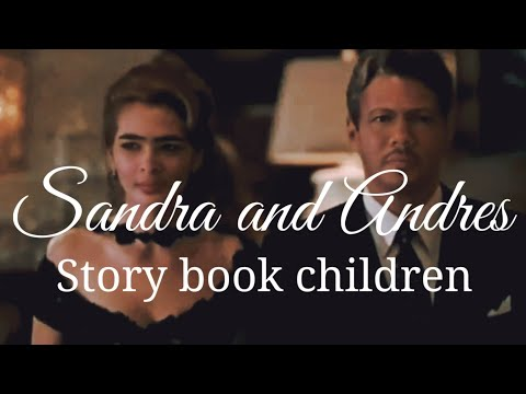 Sandra and Andres - Story book children    Video love story