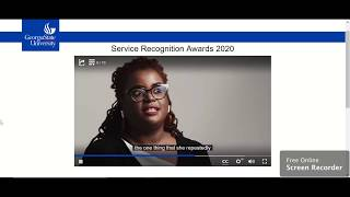 2020 Georgia State U, Presidential Service Award Video for Tiffany Green-Abdullah