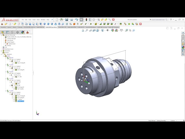 SolidCAM 2016 - Advance Channel Synchronization