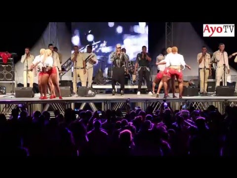 Koffi Olomide live on stage Dar es salaam with 'selfie'
