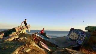 Sunken City Parkour shot on DJI Phantom 3 and Osmo