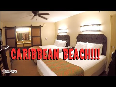 Disney's Caribbean Beach Resort Room Tour - Very unOfficial Travel Guides