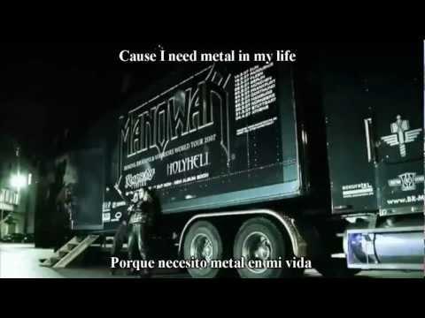 Manowar Die For Metal Subtitulado al Español with Lyrics (HD)