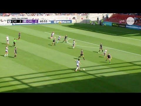 GOAL: Sydney Leroux's first goal vs. Chicago