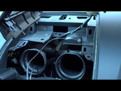 Nissan Dualis DIN Media Player Installation