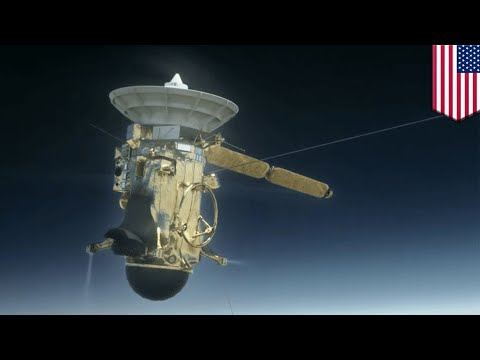 Cassini Grande Finale: NASA probe headed for Saturn plunge after Titan 'Goodbye Kiss' - TomoNews