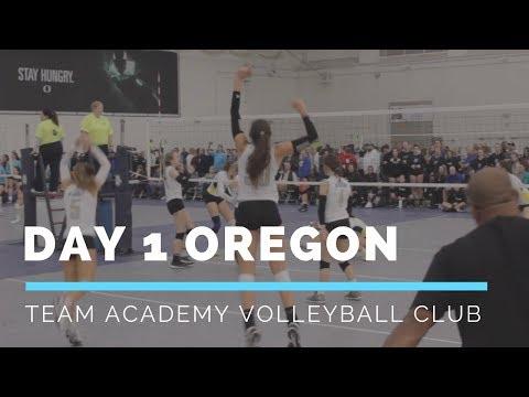 Day 1 Oregon | Team Academy Volleyball Club