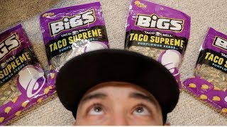 TACO BELL SUNFLOWER SEED REVIEW!!!!!