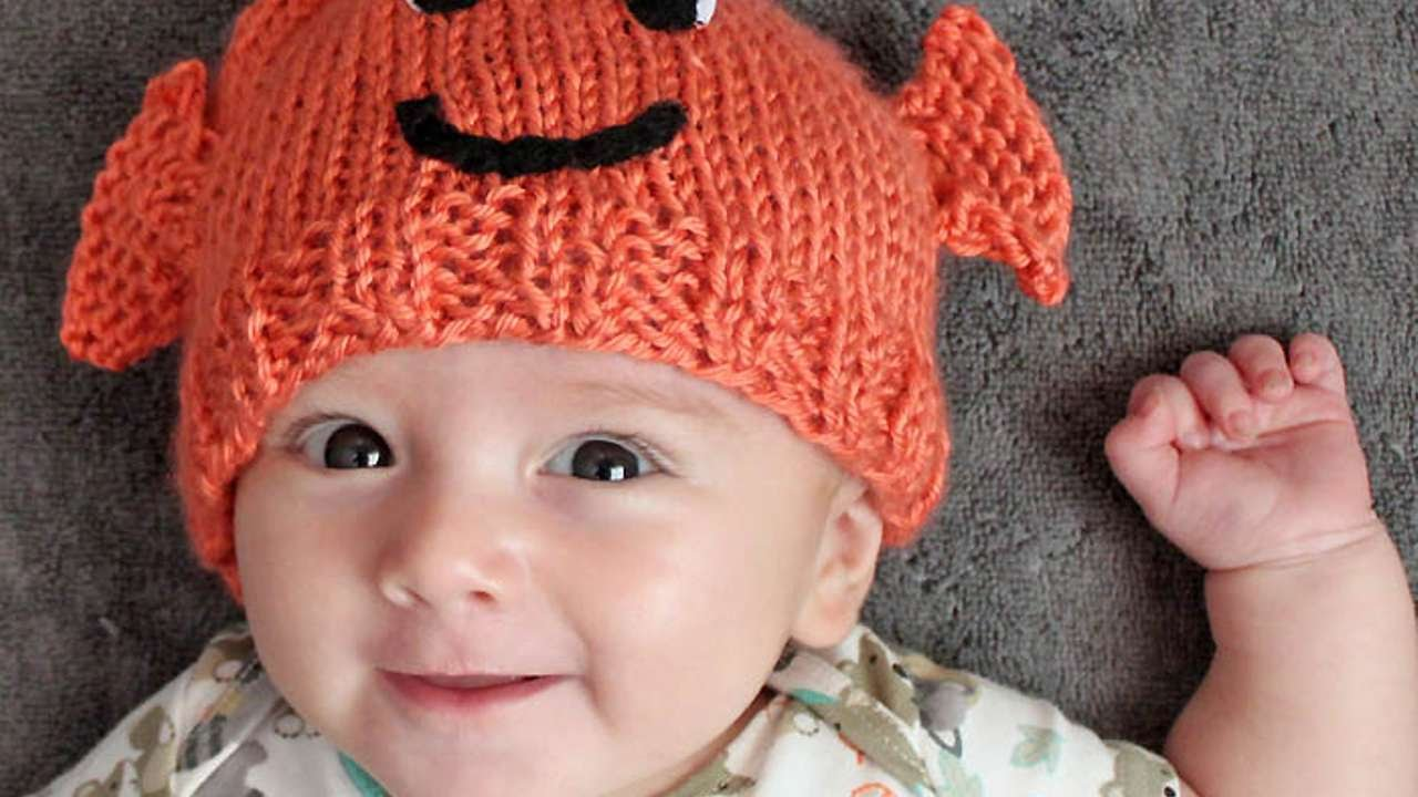 How To Knit This Cute Baby Goldfish Hat - DIY Crafts Tutorial ...