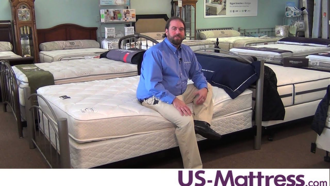Serta Perfect Sleeper Master Suite Double Sided Firm