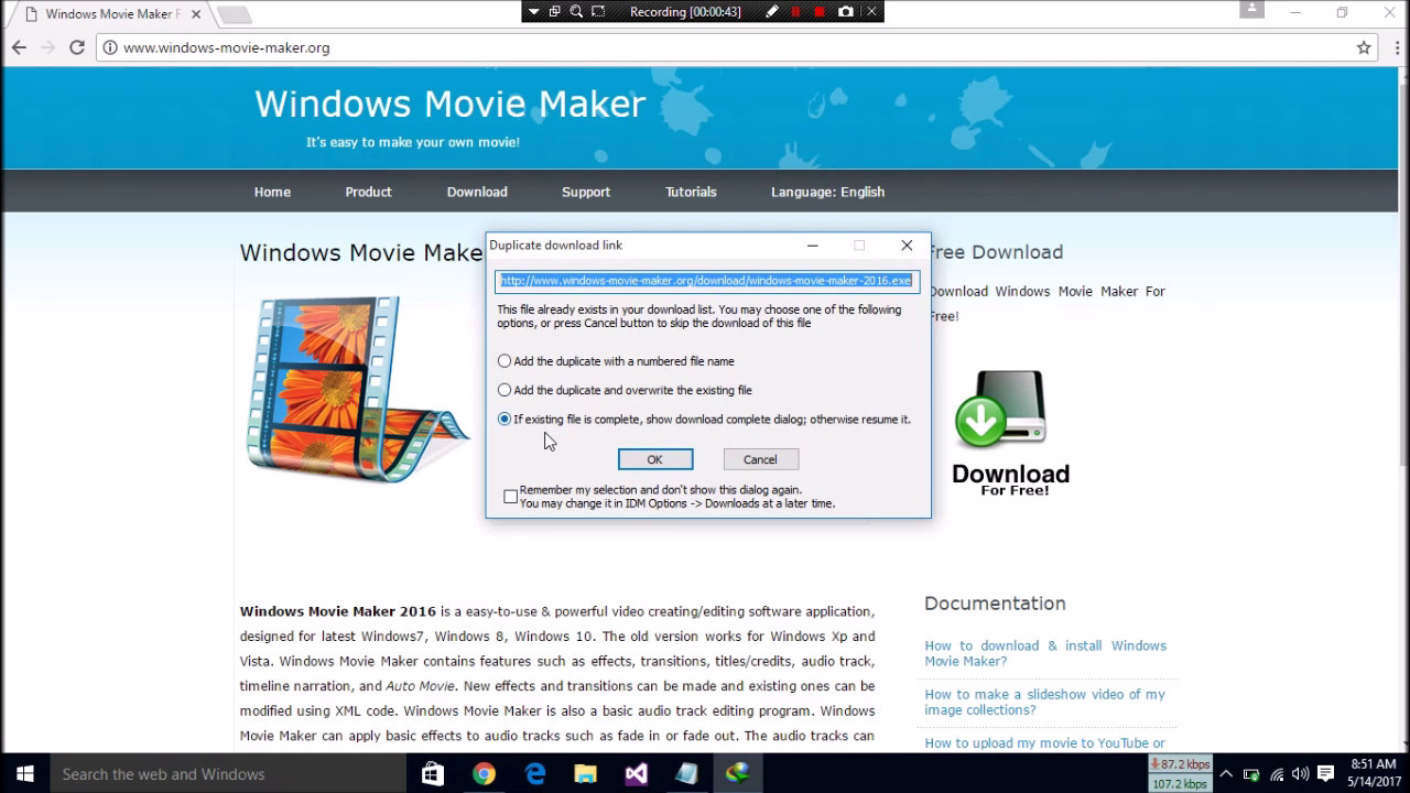 How to download movie maker in windows 10, 8. 1, 8, 7 youtube.