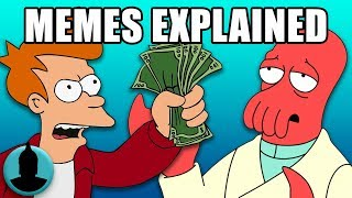 Every Futurama Meme Explained - Fry, Bender, Zoidberg + MORE! (Tooned Up S4 E20)