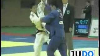JUDO 2008 Olympic Qualifier: Ki-Chun Wang 왕기춘 (KOR) - Gui-Man Bang 방 귀만 (KOR)