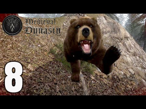 Medieval Dynasty Gameplay Part 8 - A Big Game |