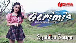 Syahiba Saufa - Gerimis (gerimis malam ini) - Official Music Video #dangdut