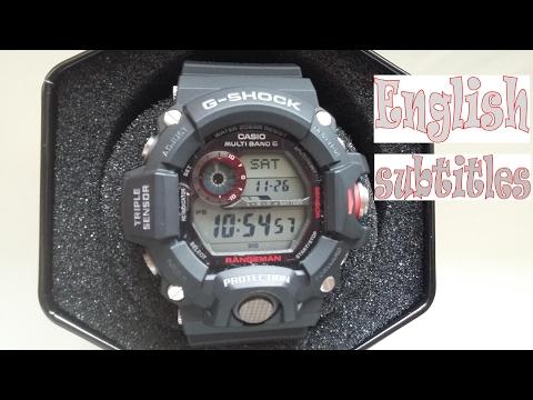 RECENZJA Casio G-Shock GW-9400  Aka Rangeman ENGLISH SUBTITLES