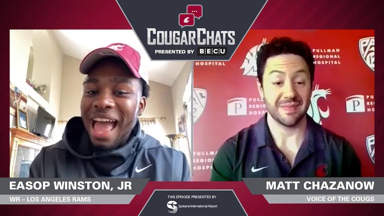 Image for WSU Athletics: Cougar Chats with Rams WR Easop Winston Jr. webinar