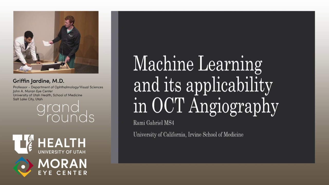 Machine Learning and its Applicability in OCT Angiography