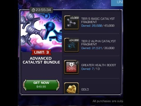 Grading The Advanced Catalyst Bundle: Marvel Contest of Champions