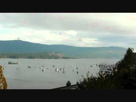 Vancouver Island British Columbia Canada Time Lapse Cowichan Bay  Harbour.