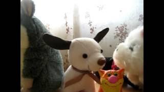 Едем домой / VLOG Вольта / мультфильм с игрушками про собаку