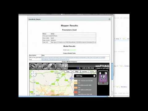 The NeISS Trial Environment Demonstration.  Part 6 - Running a Transport Simulation