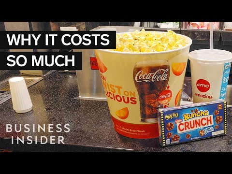 Sneaky Ways Movie Theaters Get You To Spend More Money