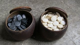 Antique Go  囲碁 Game Pieces And Wooden Bowls - Japan Antique Roadshow