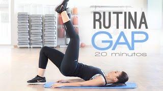 Rutina ejercicios GAP | glúteos, abdomen, piernas y cardio