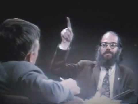Allen Ginsberg reads his LSD poem to William Buckley
