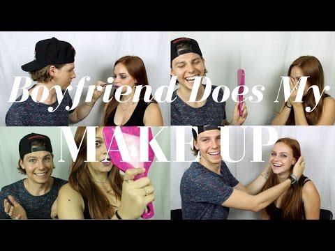 Boyfriend Does My Makeup TAG