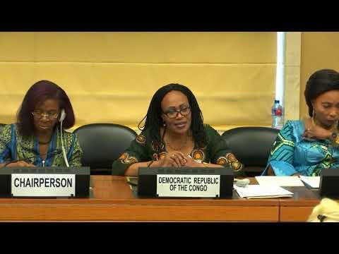 Marie-Ange Mushobekwa: « Il N'y Aura Pas De Mariage Homosexuel Au Congo »