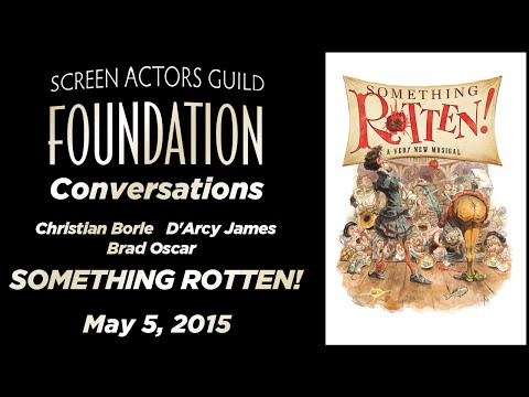 Conversations with the Cast of SOMETHING ROTTEN!