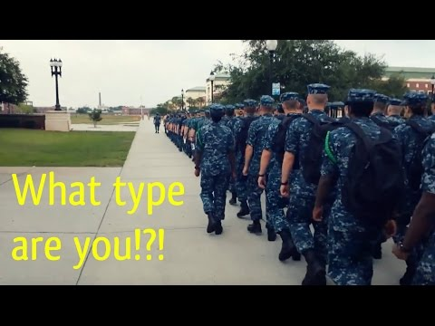 The 5 types of people joining the Navy