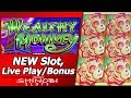 Wealthy Monkey Slot - First Attempt, New Konami Slot with Live Play and Free Spins Bonuses